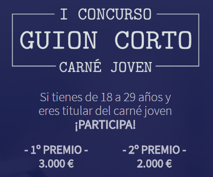 I CONCURSO GUIÓN CORTO CARNÉ JOVEN