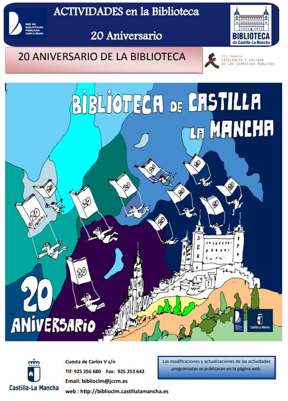 20 Aniversario de la Biblioteca de Castilla-La Mancha