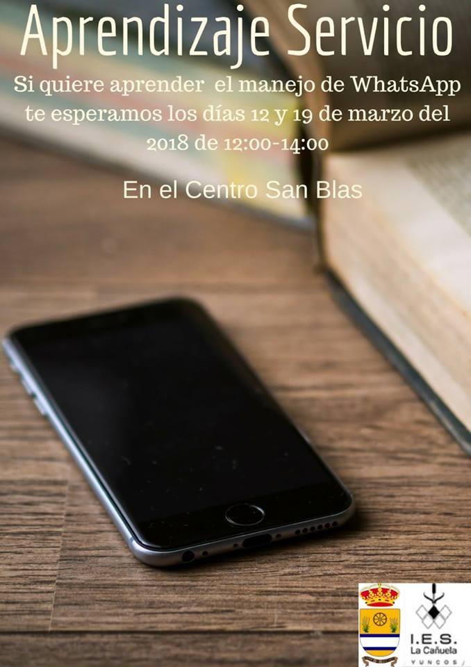 Aprendizaje de Servicio, IES La Cañuela