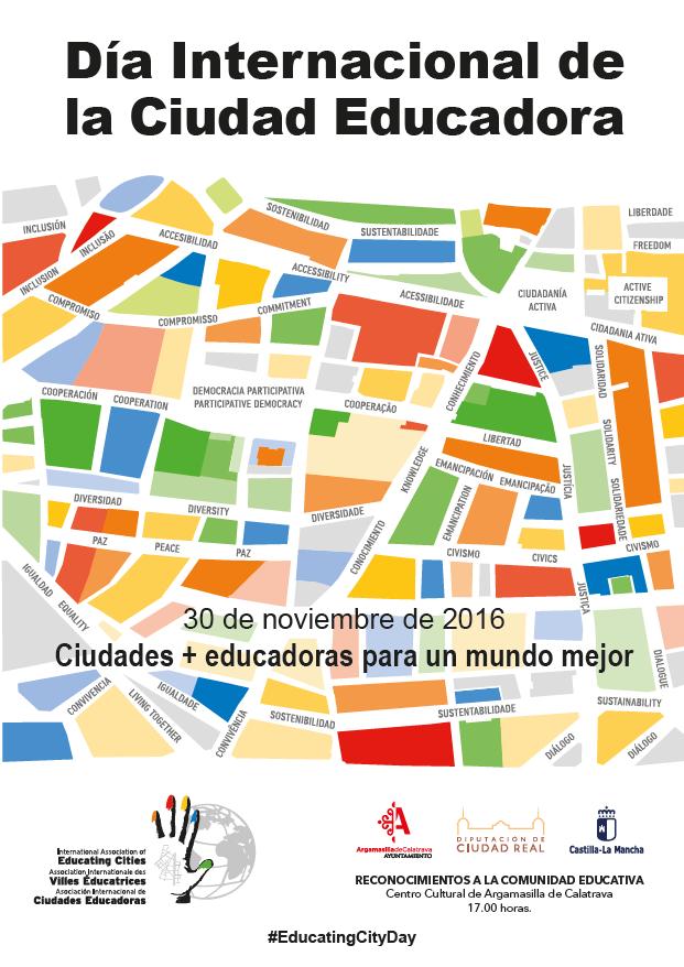 Reconocimientos de Ciudades Educadoras en Argamasilla de Calatrava.