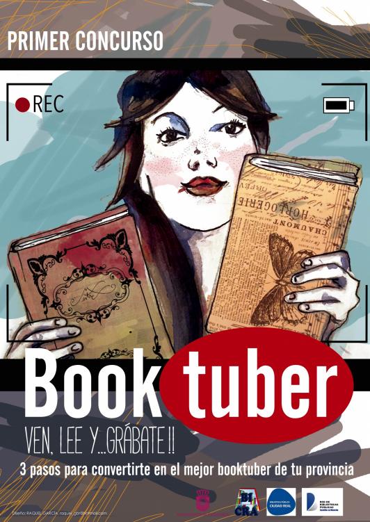 "I Concurso de Booktubers ""Bibliotubers""."