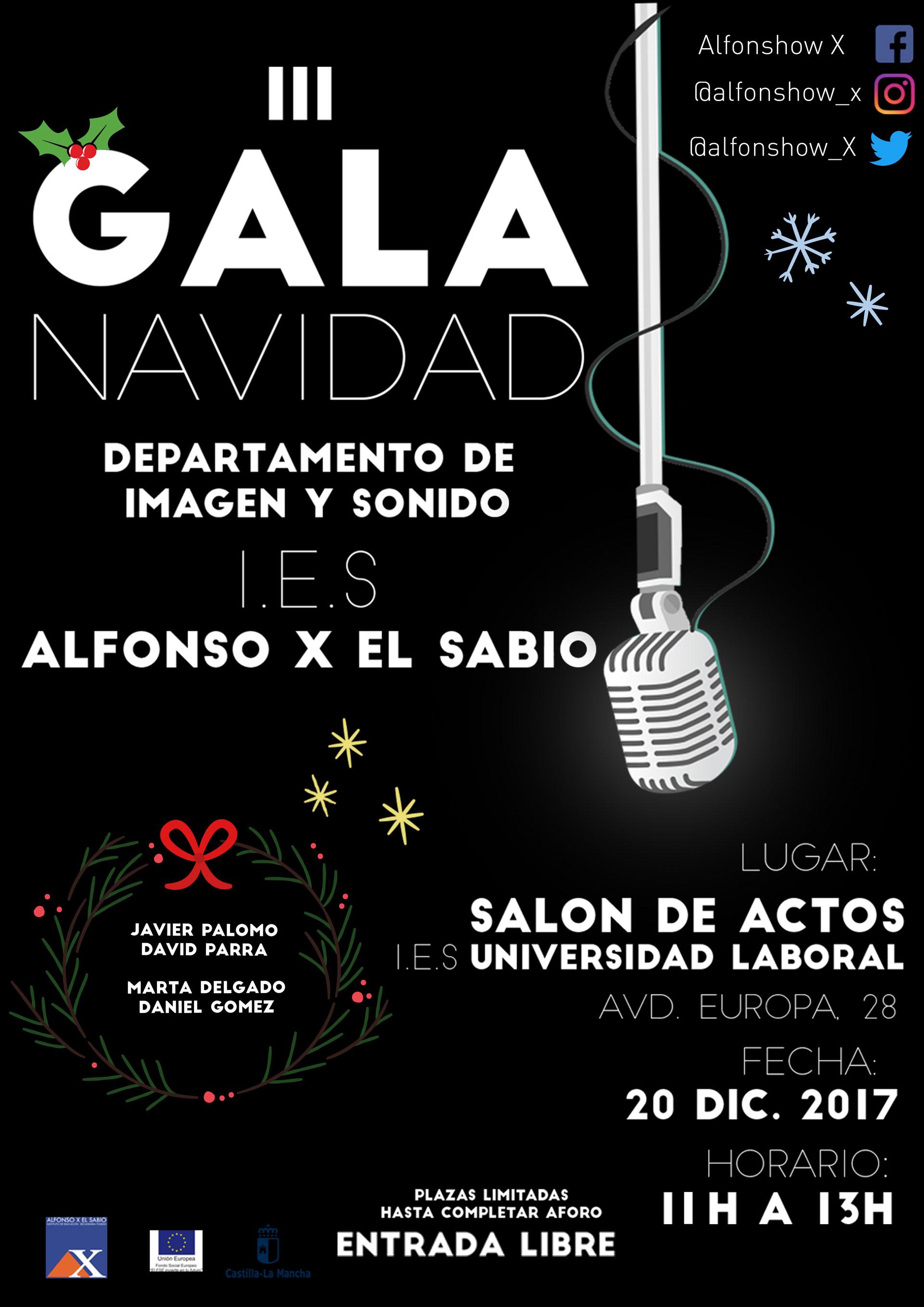 III Gala de Navidad