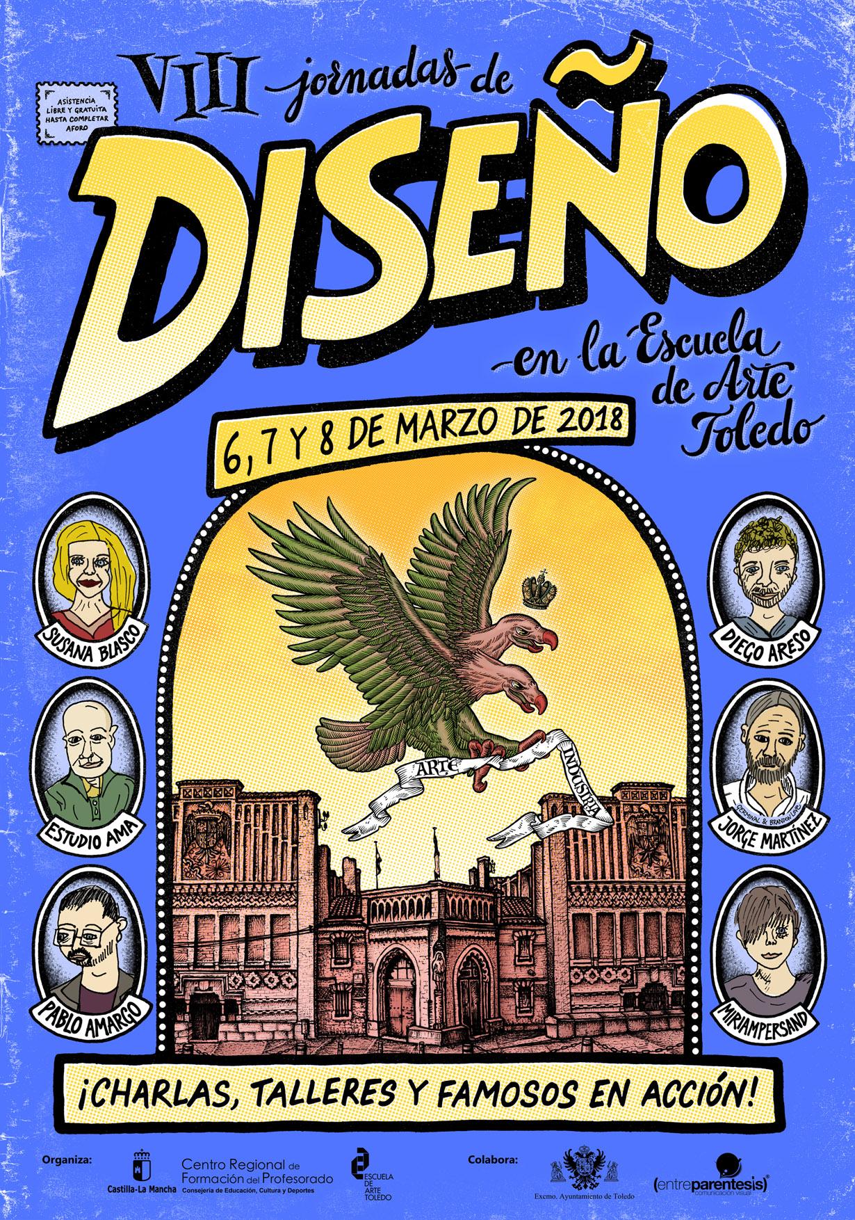 """VIII Jornadas de Diseño"", Escuela de Arte ""Toledo"""