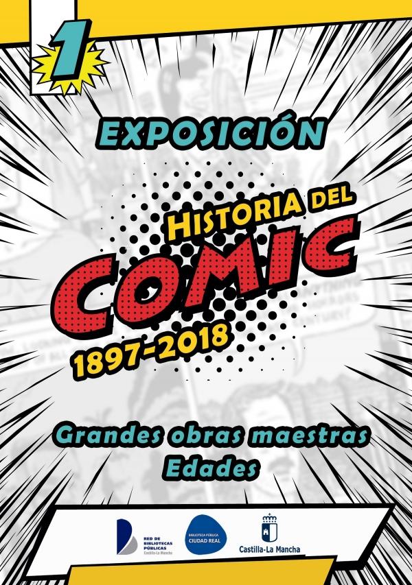 """Exposición """"Historia del cómic: 1897-2018"""""""
