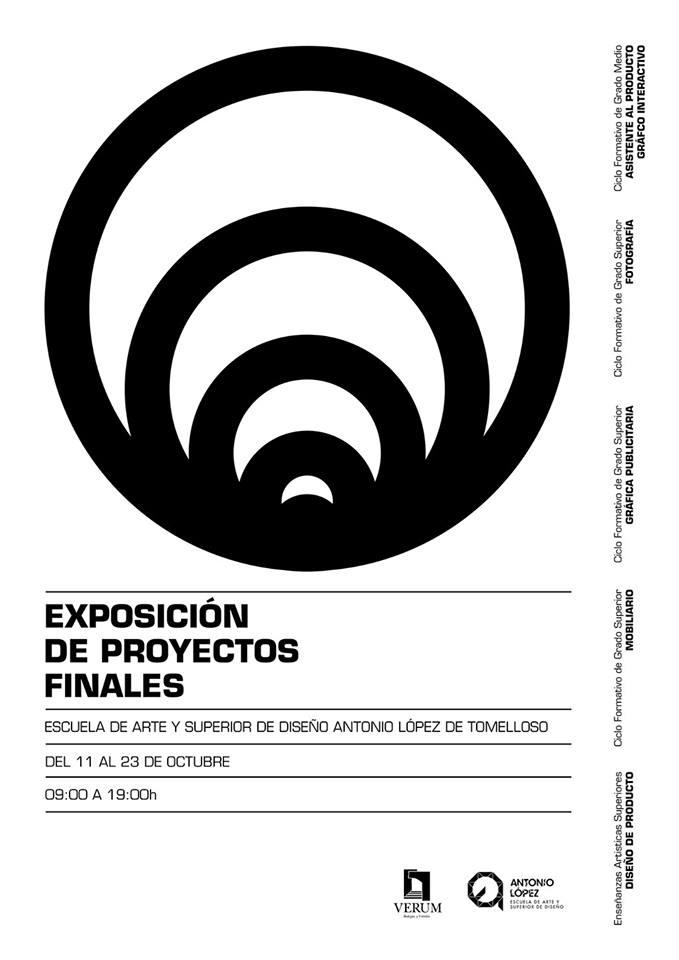 Exposición de los trabajos fin de estudios de la Escuela de Arte y Superior de Diseño Antonio López