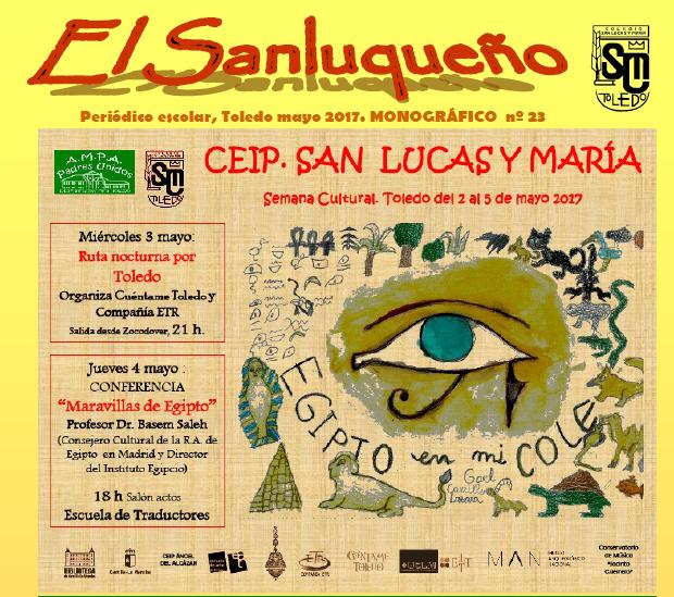 Semana Cultural CEIP San Lucas y María de Toledo