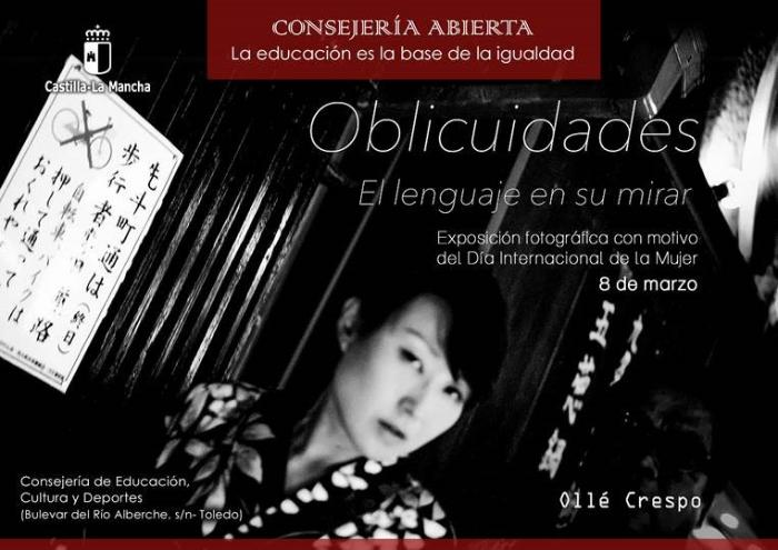 """Exposición fotográfica""""Oblicuidades: El lenguaje en su mirar"""", de Ollé Crespo"""
