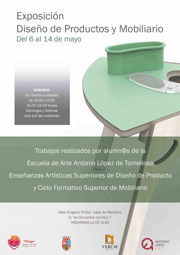 Exposición Diseño de Productos y Mobiliario, Escuela de Arte Antonio López