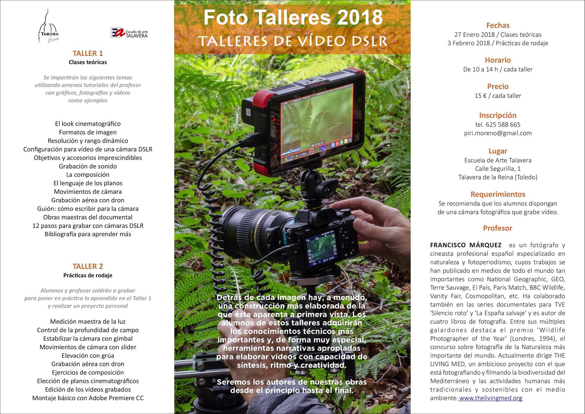 Foto Talleres 2018, Escuela de Arte de Talavera