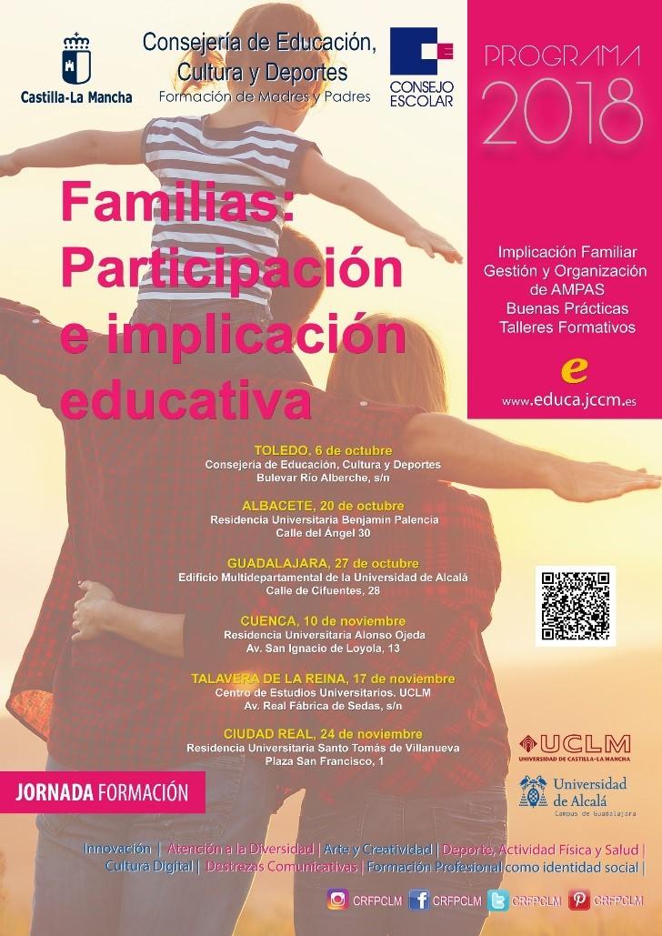 Jornada de formación del Consejo Escolar de Castilla-La Mancha. Familias: participación e implicación educativa 20