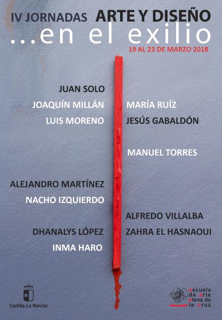 """IV Jornadas de Arte y Diseño, Escuela de Arte """"Elena de la Cruz Martín"""""""