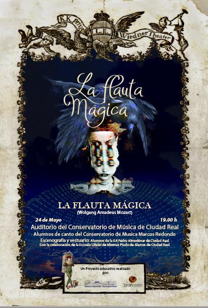 """""""La Flauta Mágica"""" EA Pedro Almodóvar y Conservatorio Marcos Redondo"""
