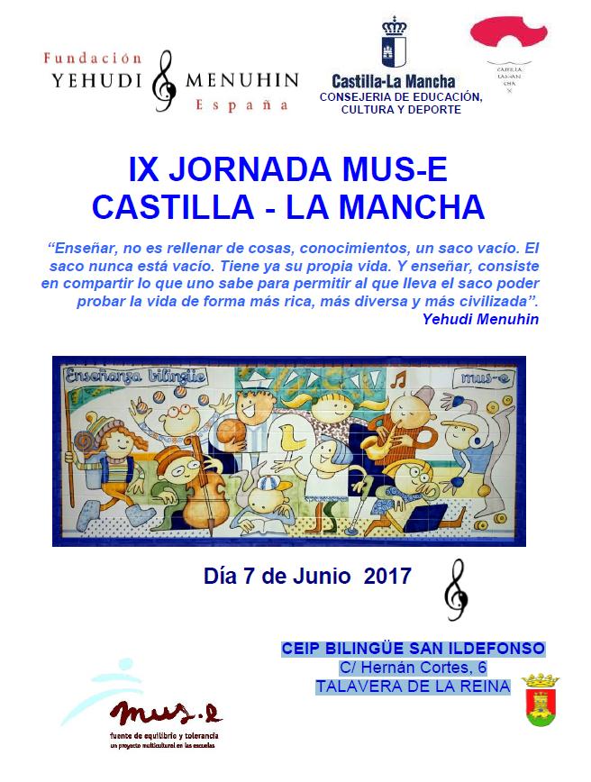 IX JORNADA MUS-E CASTILLA - LA MANCHA