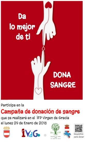 III Jornadas de Donación de Sangre, IFP Virgen de Gracia