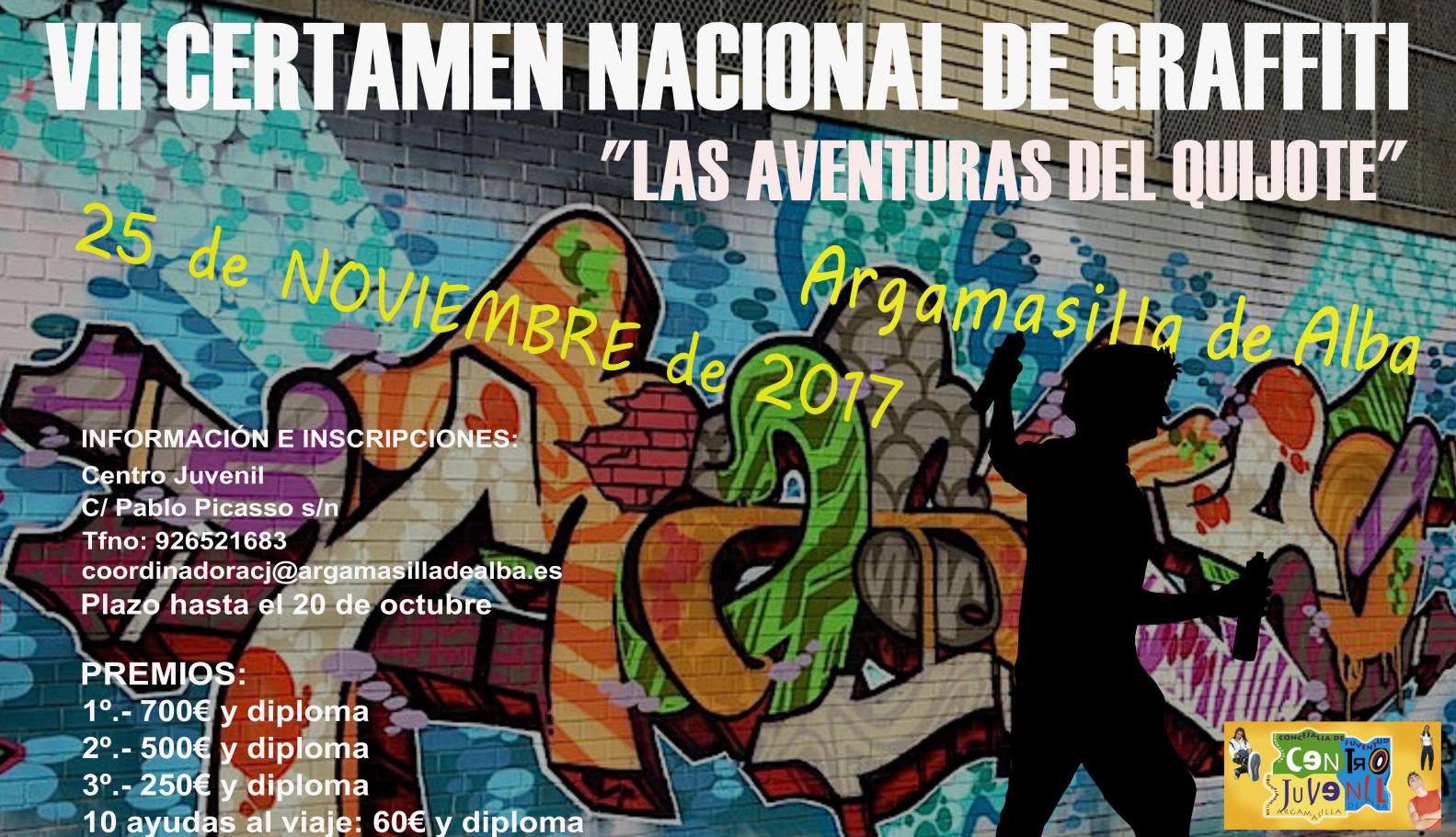 """VII Certamen Nacional Graffiti """"Las Aventuras del Quijote"""""""