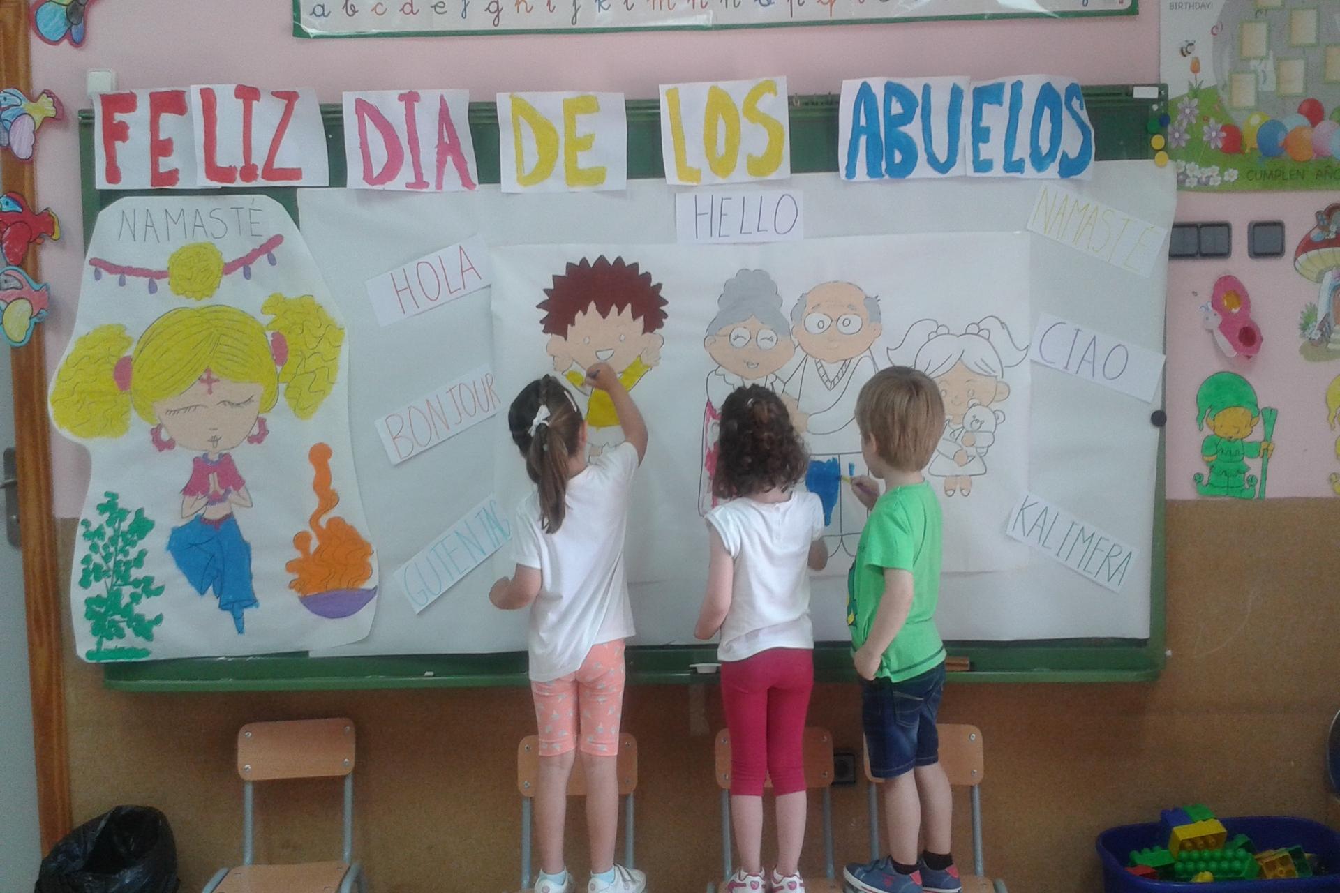 El Día de los abuelos y abuelas en nuestro Colegio