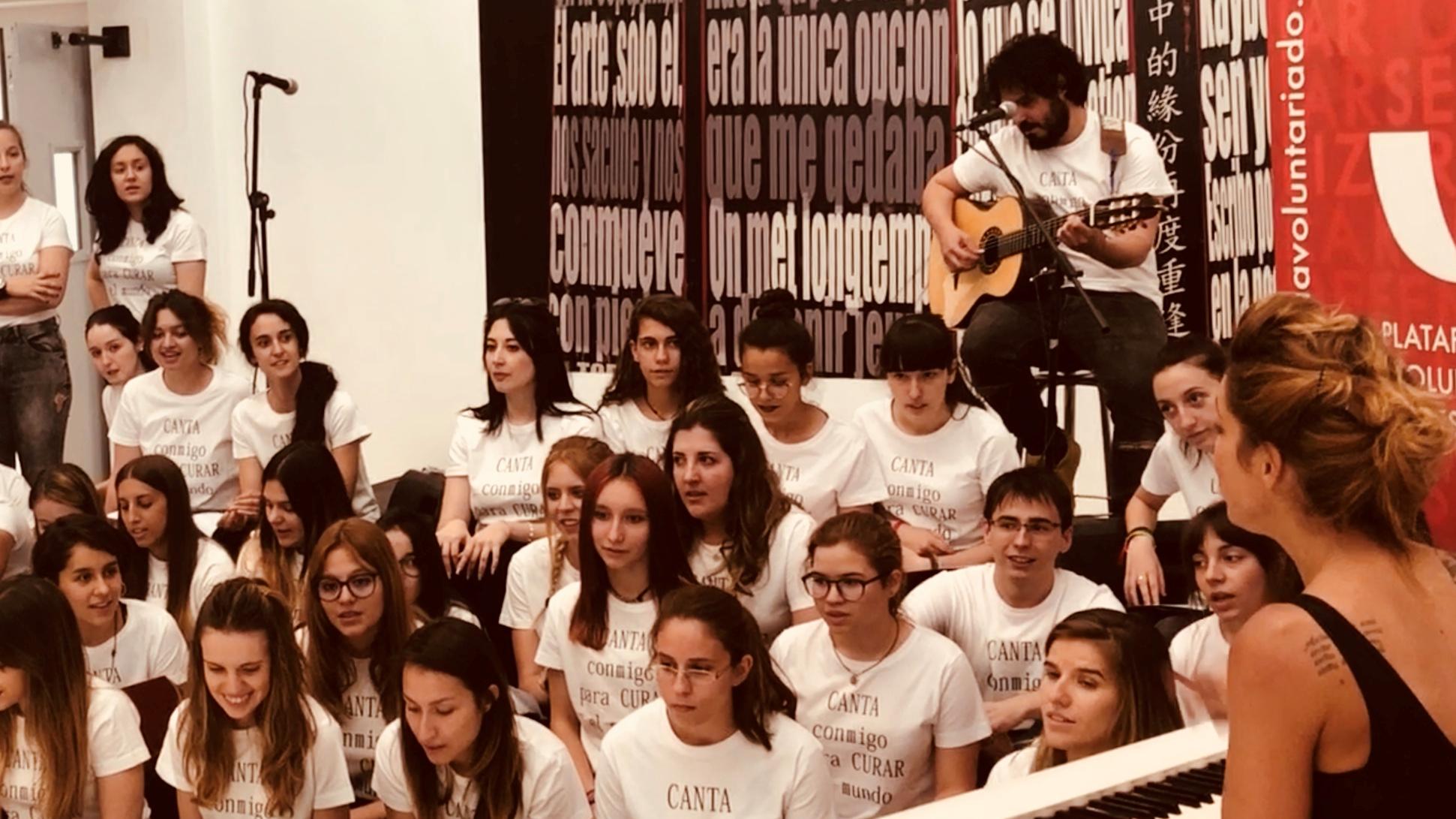 Aprendiendo el voluntariado: curar y cantar