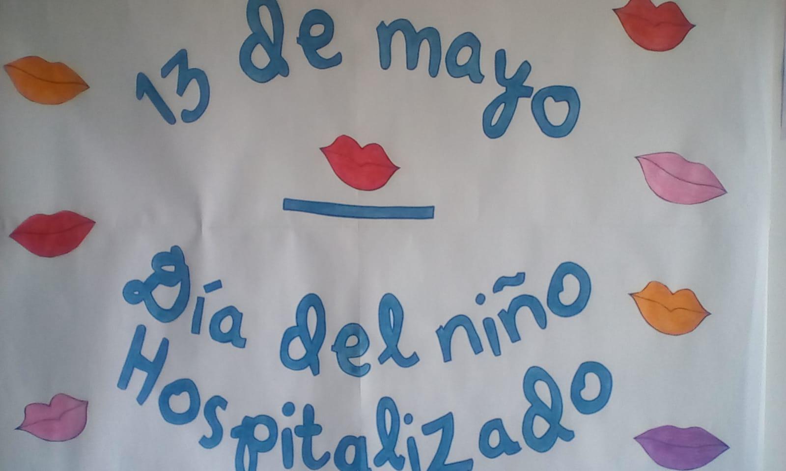 Más de 4.000 besos para los niños y niñas hospitalizados