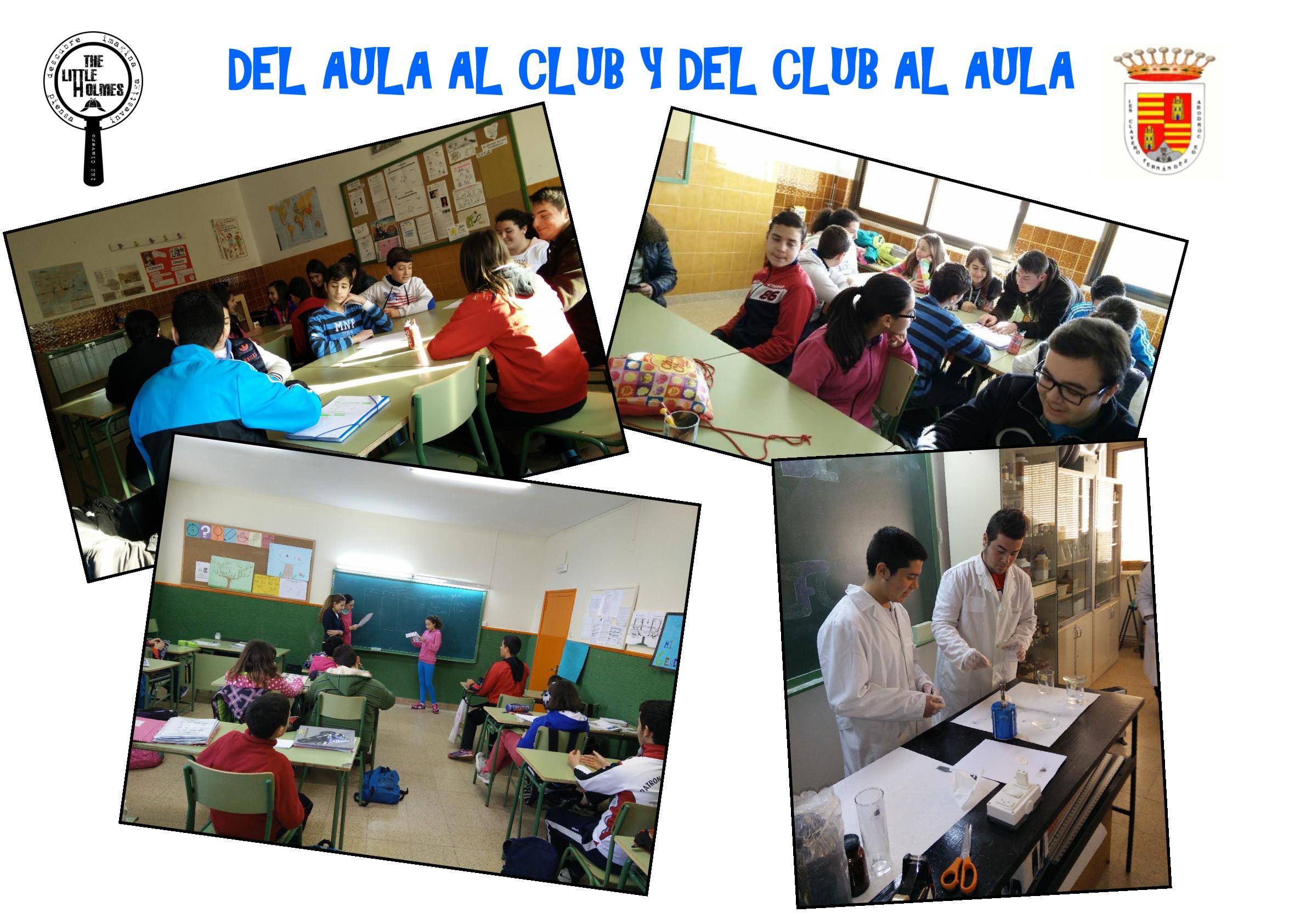 """El """"Clavero"""" investiga: Club de Jóvenes Investigadores """"The Little Holmes"""""""