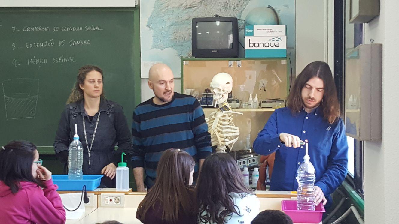 La sinergia entre el IES Clavero Fernández de Córdoba y el Hospital de Ciudad Real