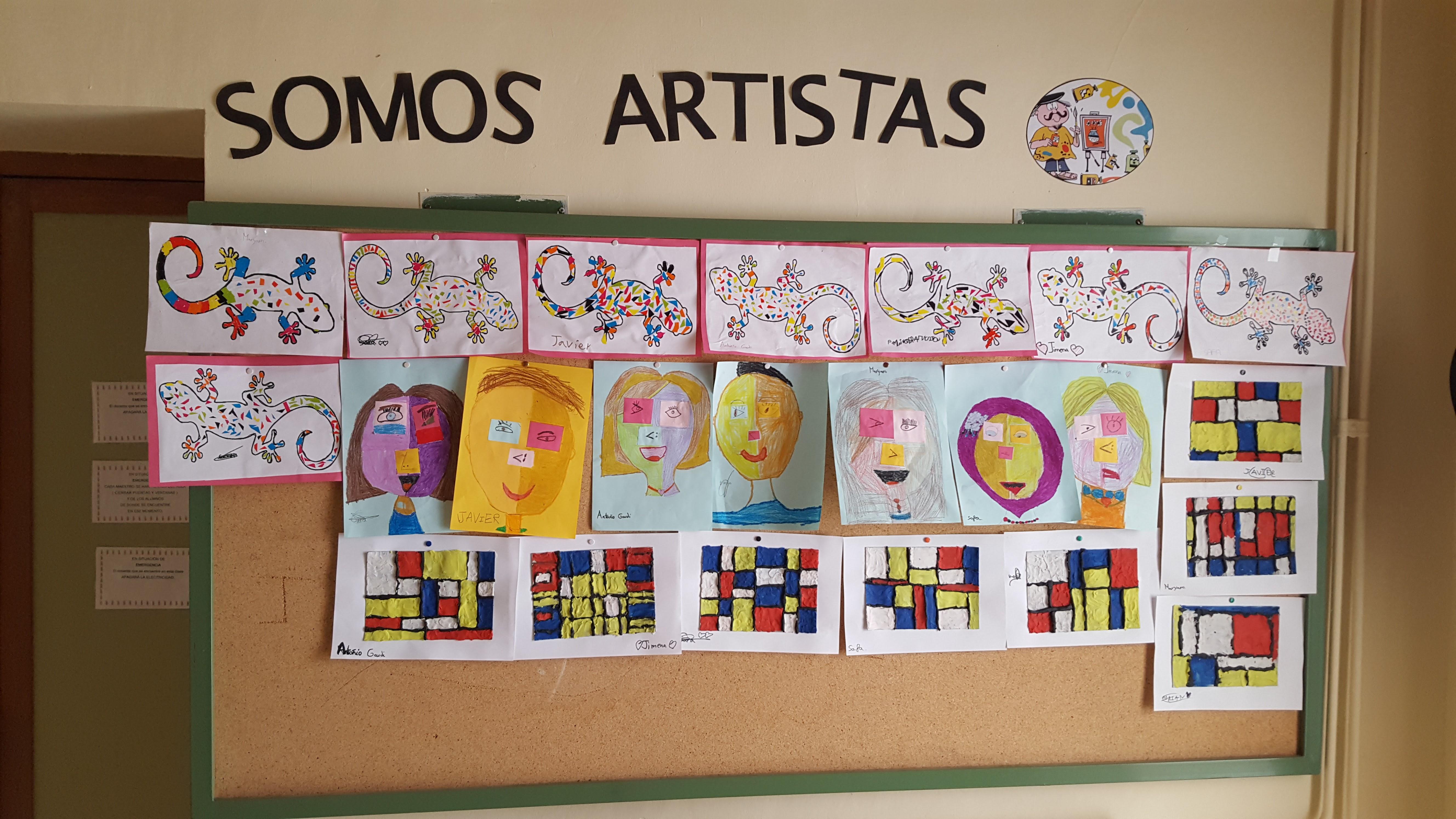 Somos artistas en el CRA Alciares