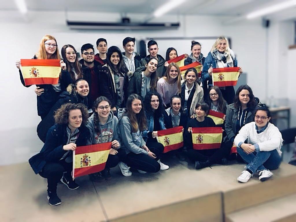 Intercambio europeo en el IES de Añover de Tajo
