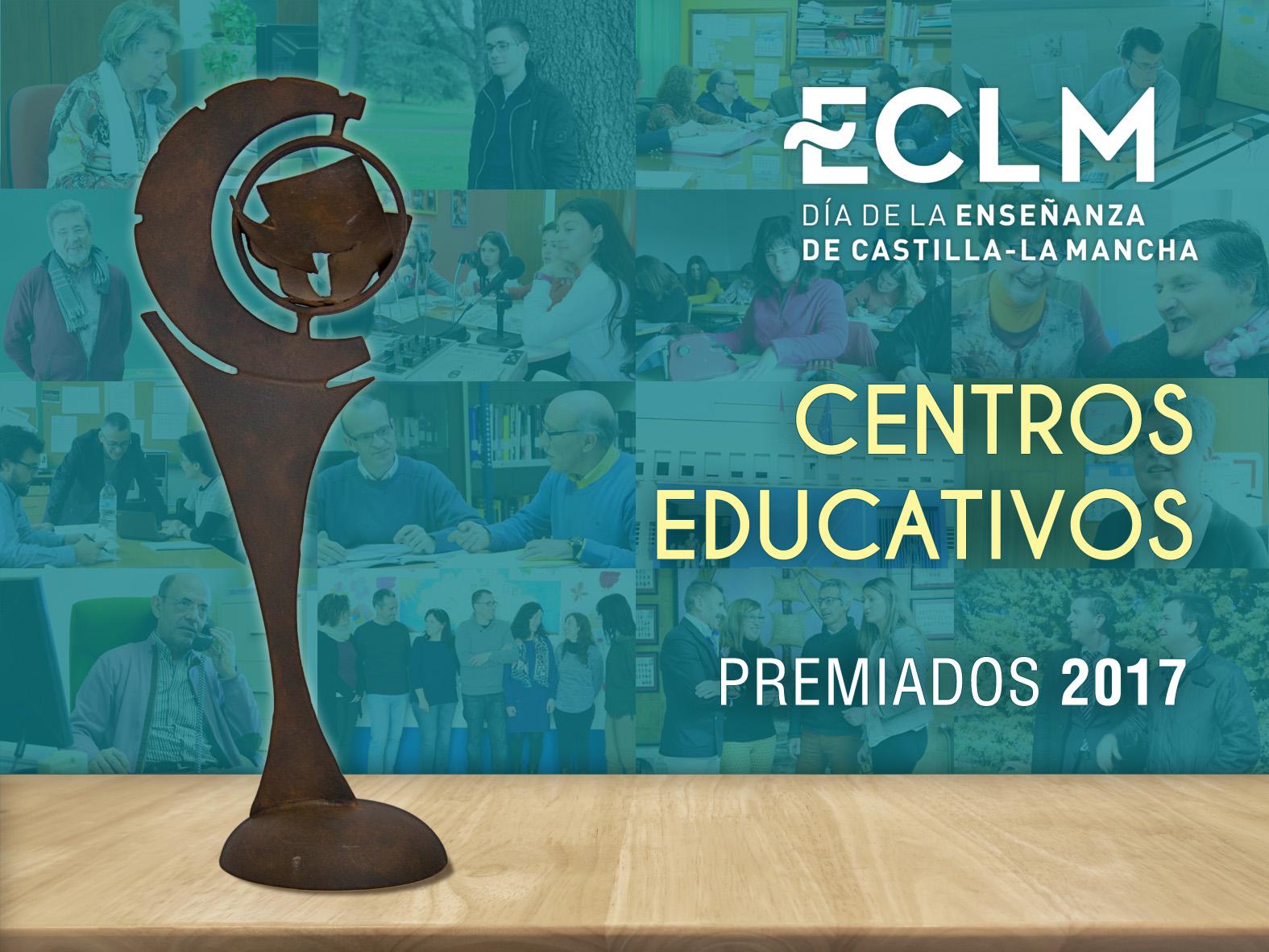 Premiados del Día de la Enseñanza 2017 en la categoría de Centros Educativos