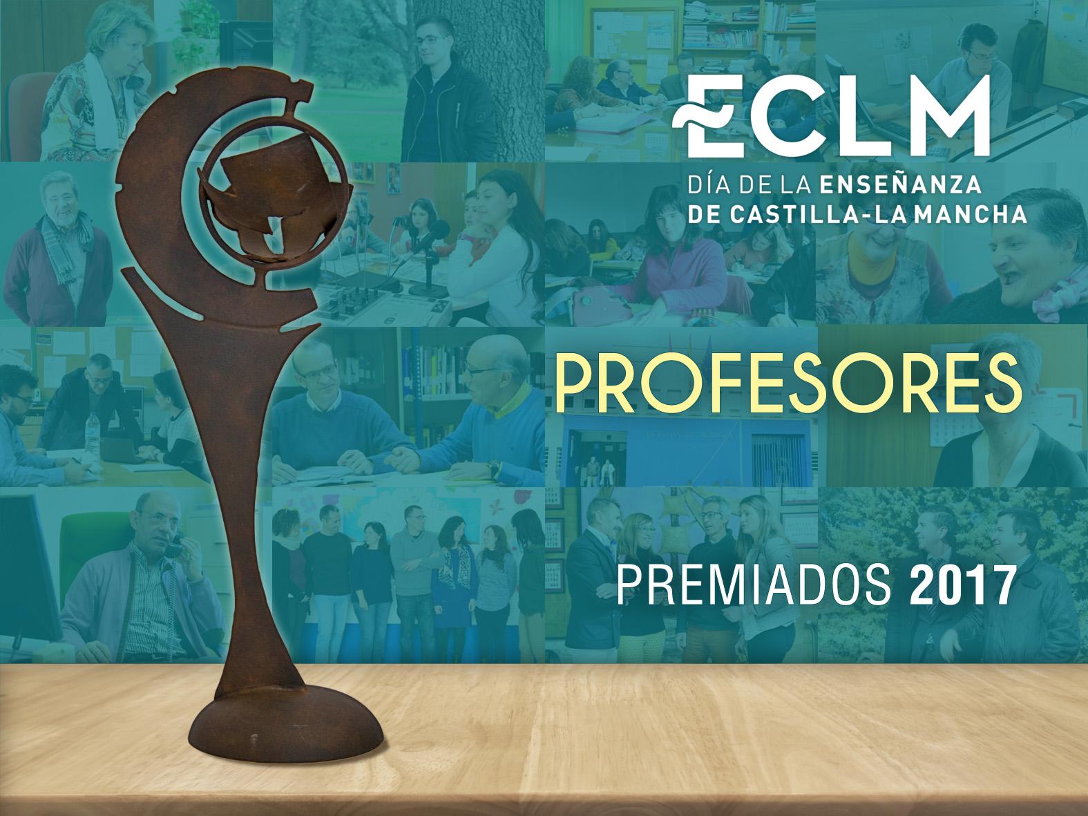 Premiados del Día de la Enseñanza 2017 en la categoría de Profesores