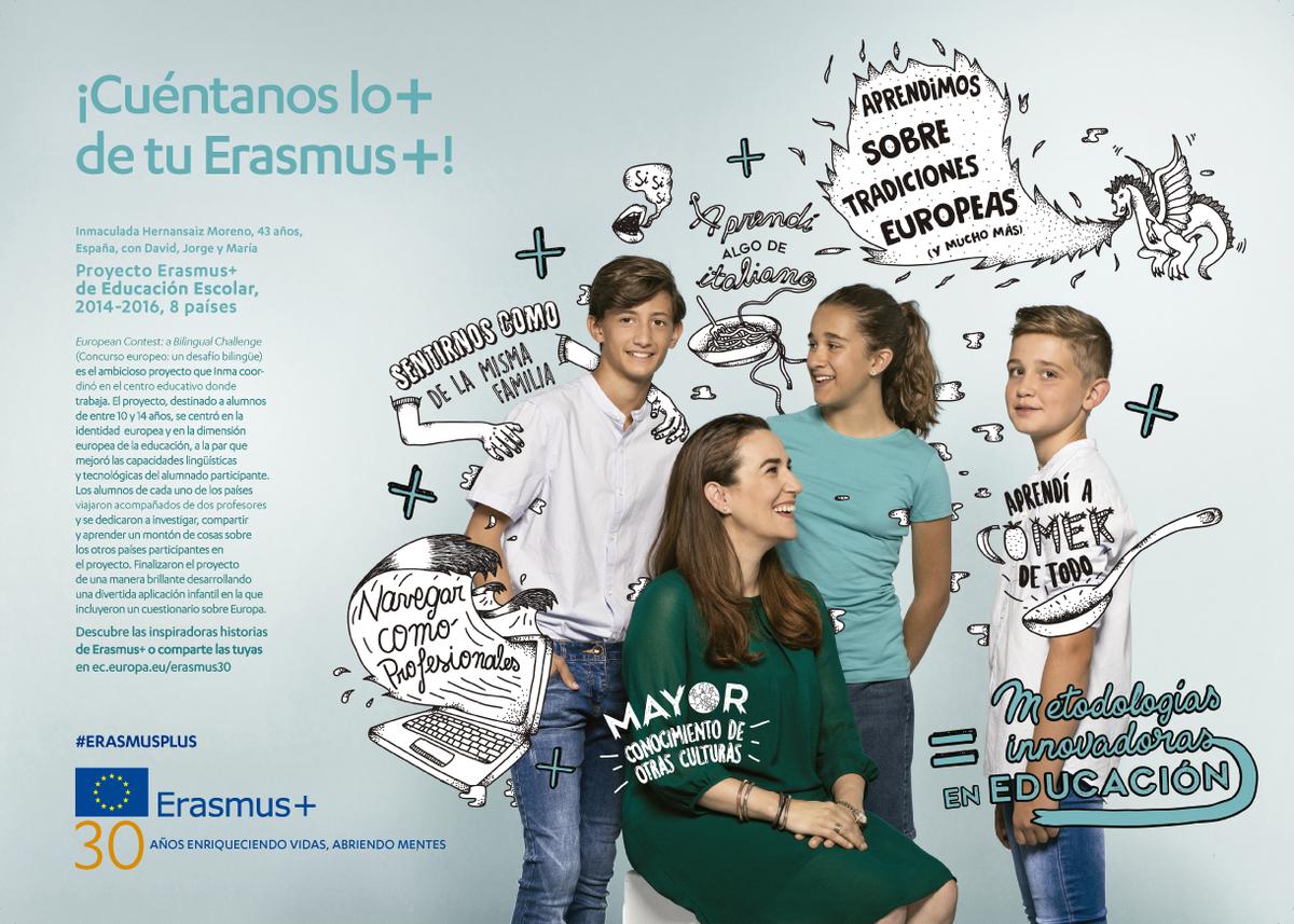 ¡Con Erasmus +, hemos vivido un sueño!