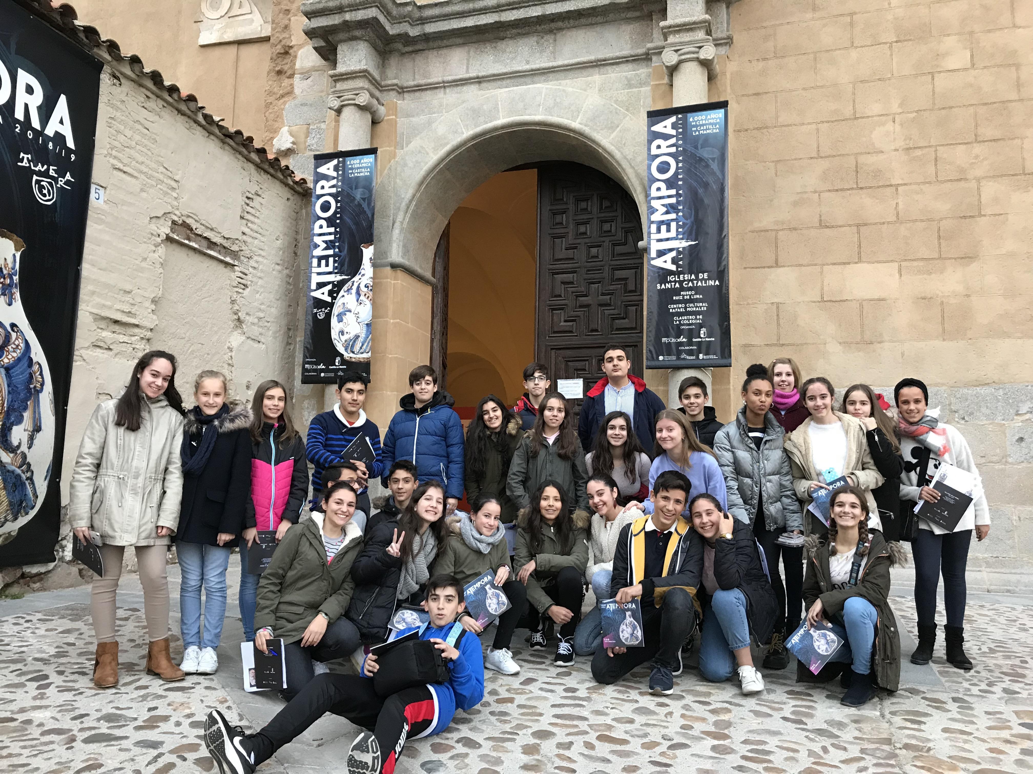 El alumnado del IES Gabriel Alonso Herrera promociona 'aTempora' en Europa a través del programa EUthApp