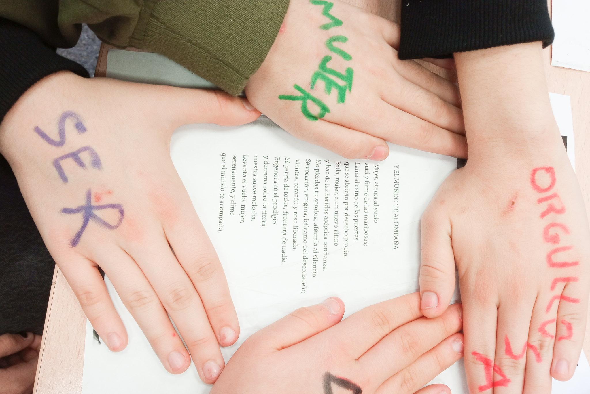 Trabajando por la igualdad y la prevención de la violencia de género con el alumnado convaleciente y hospitalizado