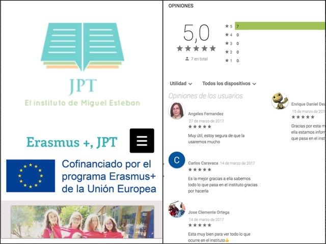 La experiencia Erasmus + cobra vida en forma de APP