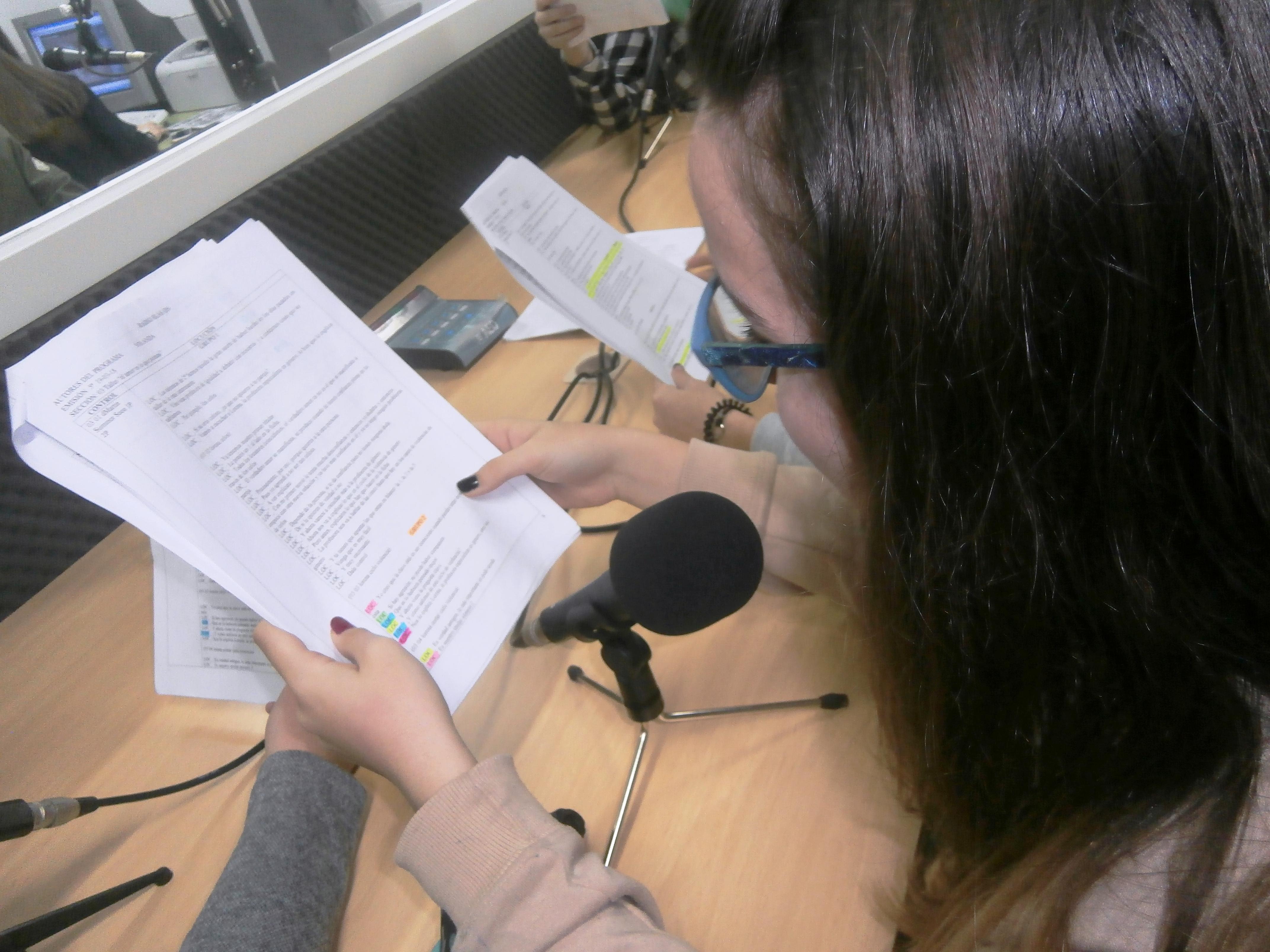 El Día de la Mujer en la radio del Instituto
