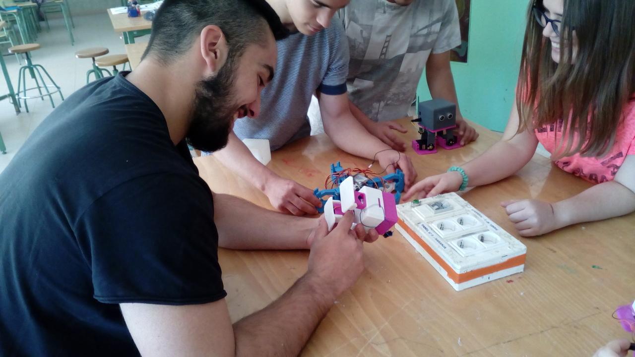 Robótica e Impresión 3D en Educación Primaria y Secundaria