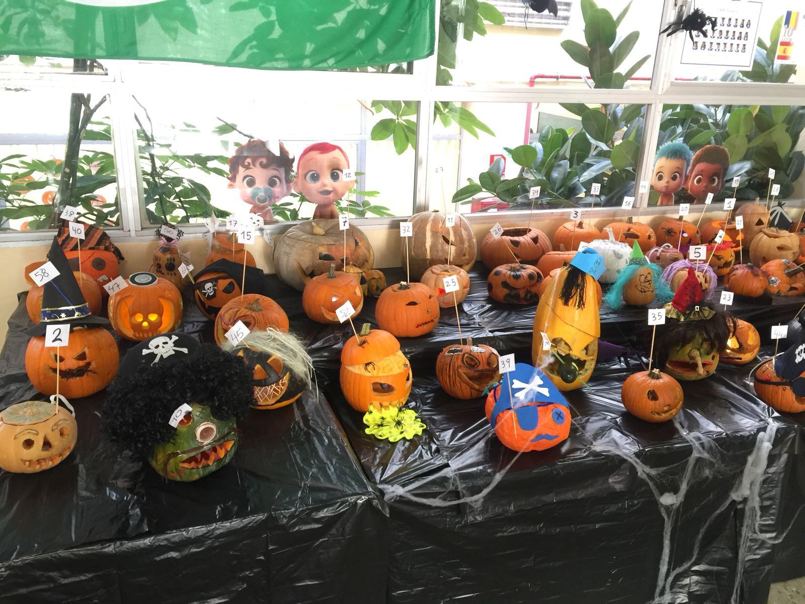 Concurso de calabazas, un motivo festivo para la participación de las familias