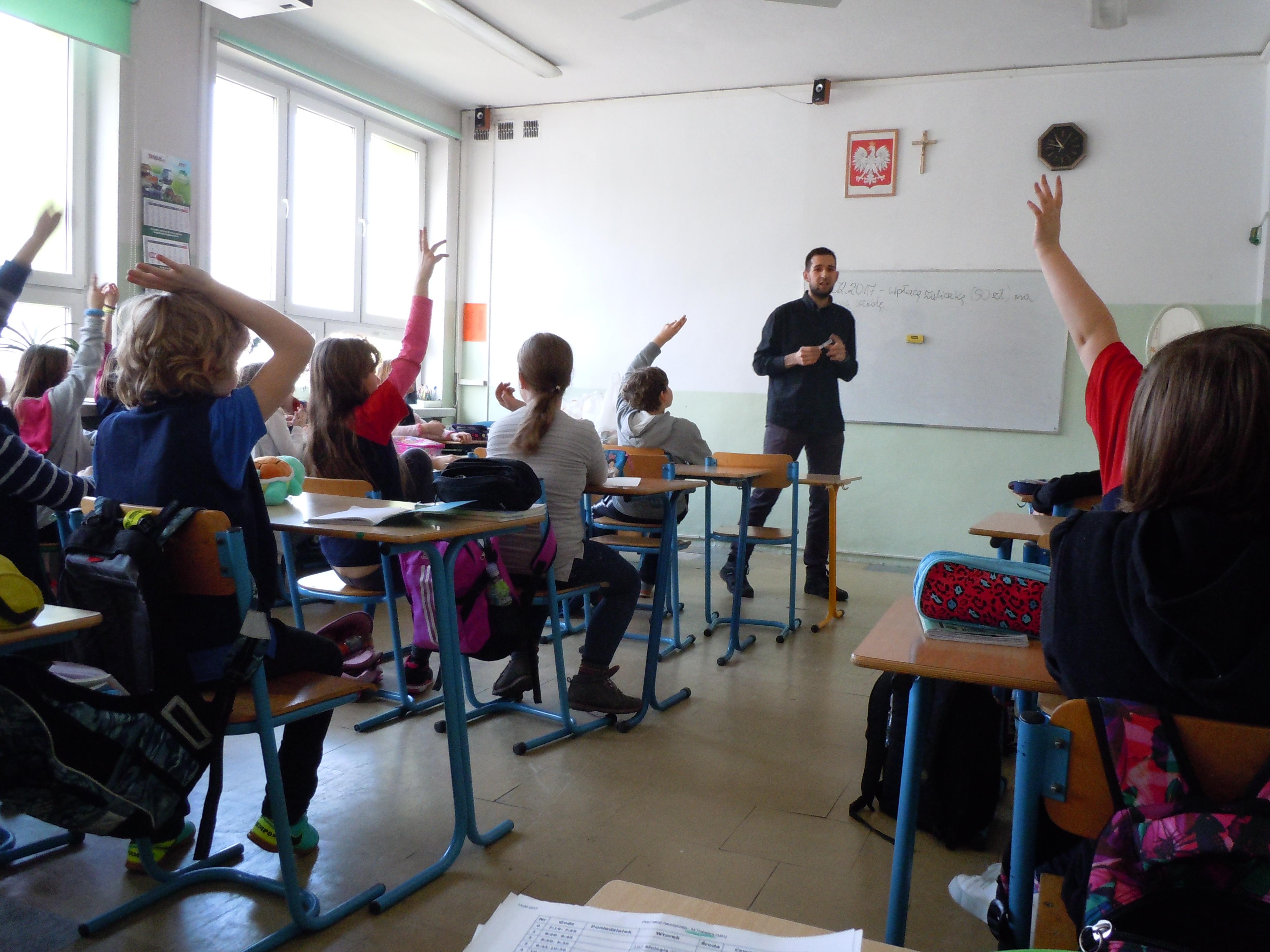 De Mota del Cuervo a Cracovia. Aprendizaje cooperativo más allá del aula