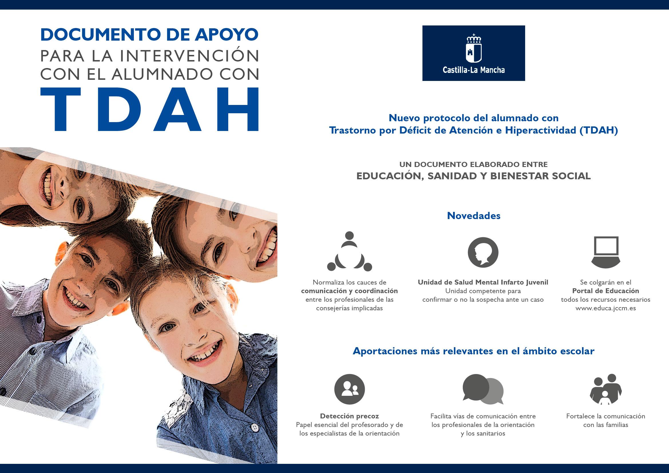 Nuevo Protocolo TDAH, una respuesta integral y de calidad para la población infantil, juvenil y sus familias