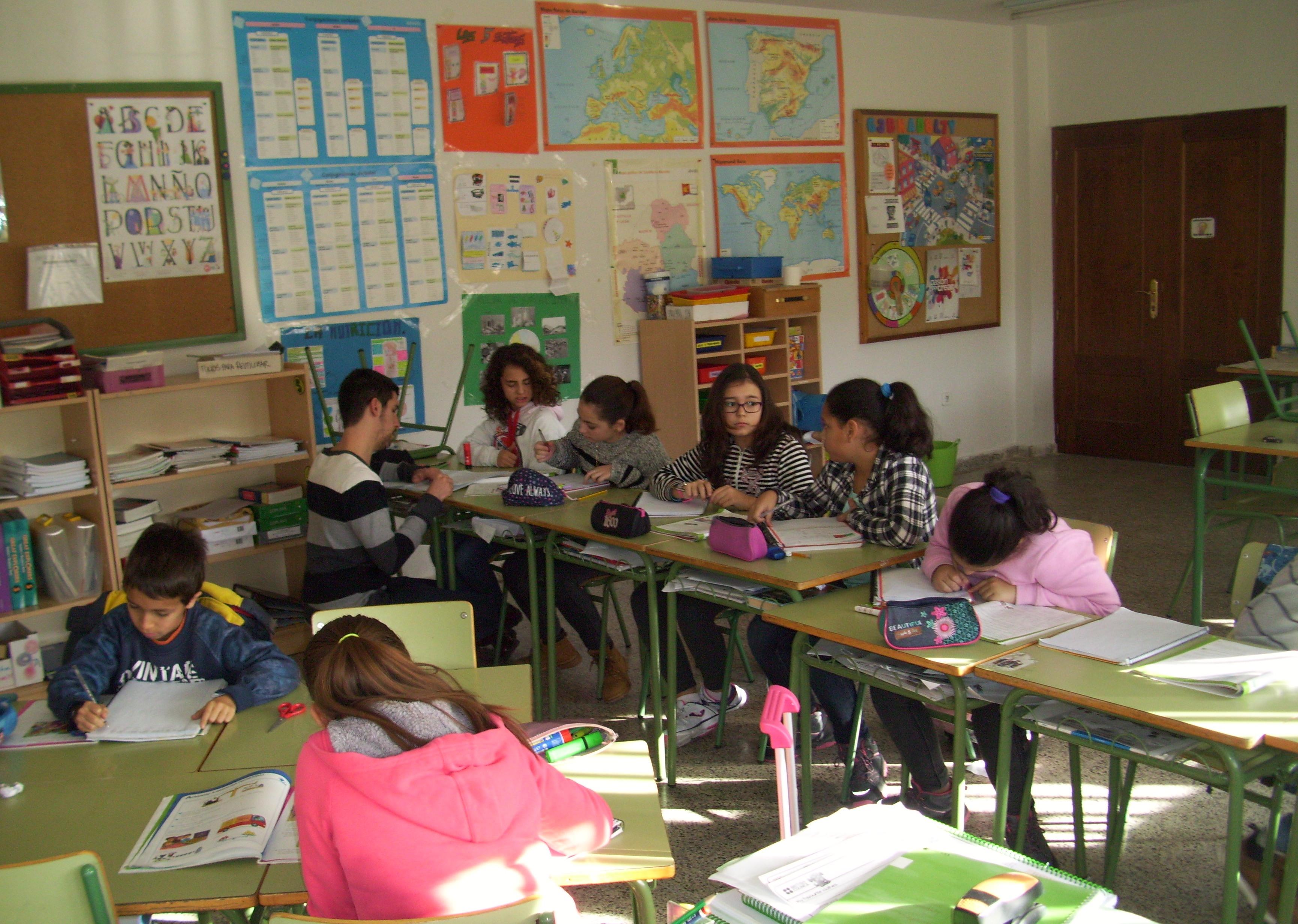 ¿Cómo es enseñar en un colegio rural?