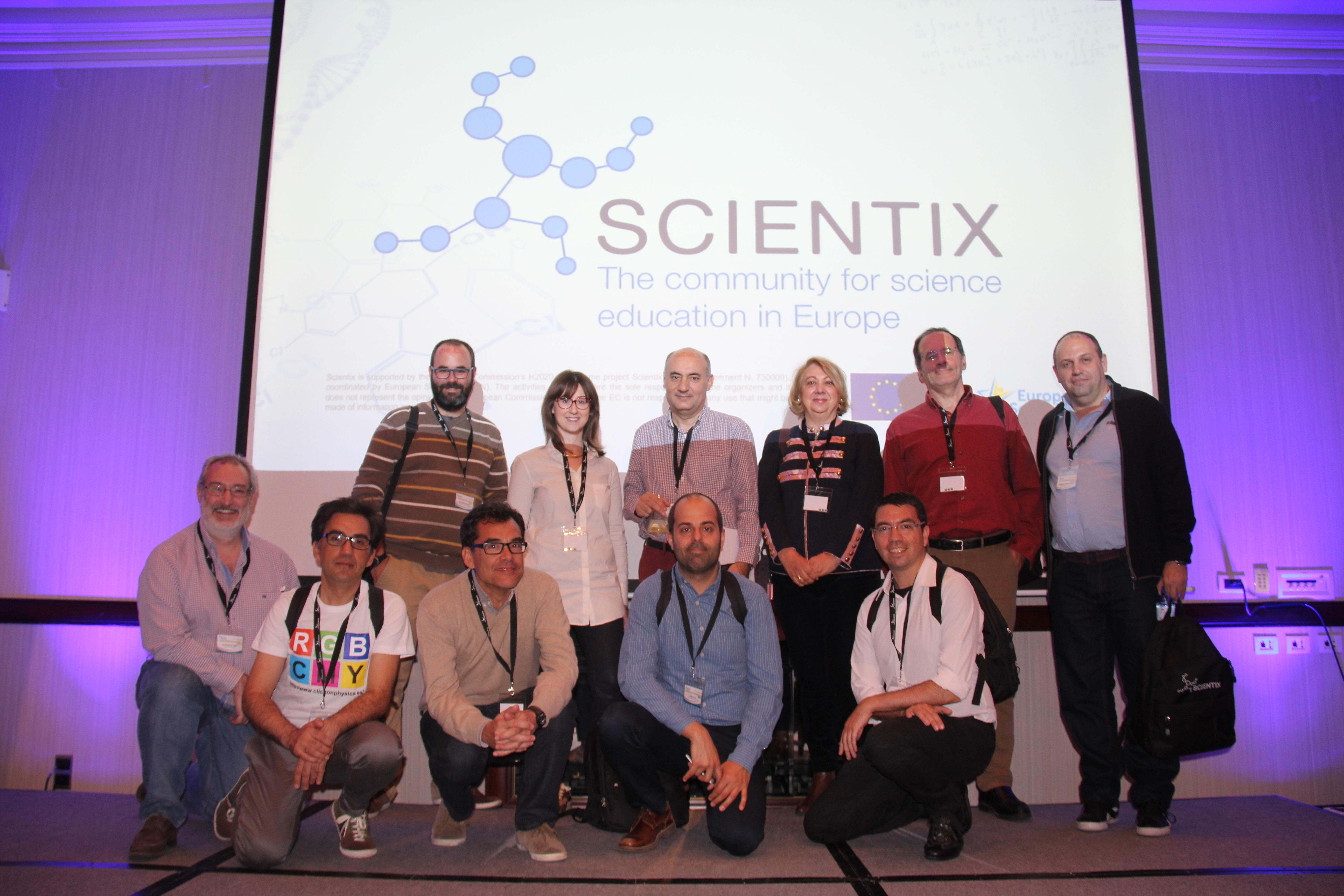 Scientix: La enseñanza de las ciencias en Europa