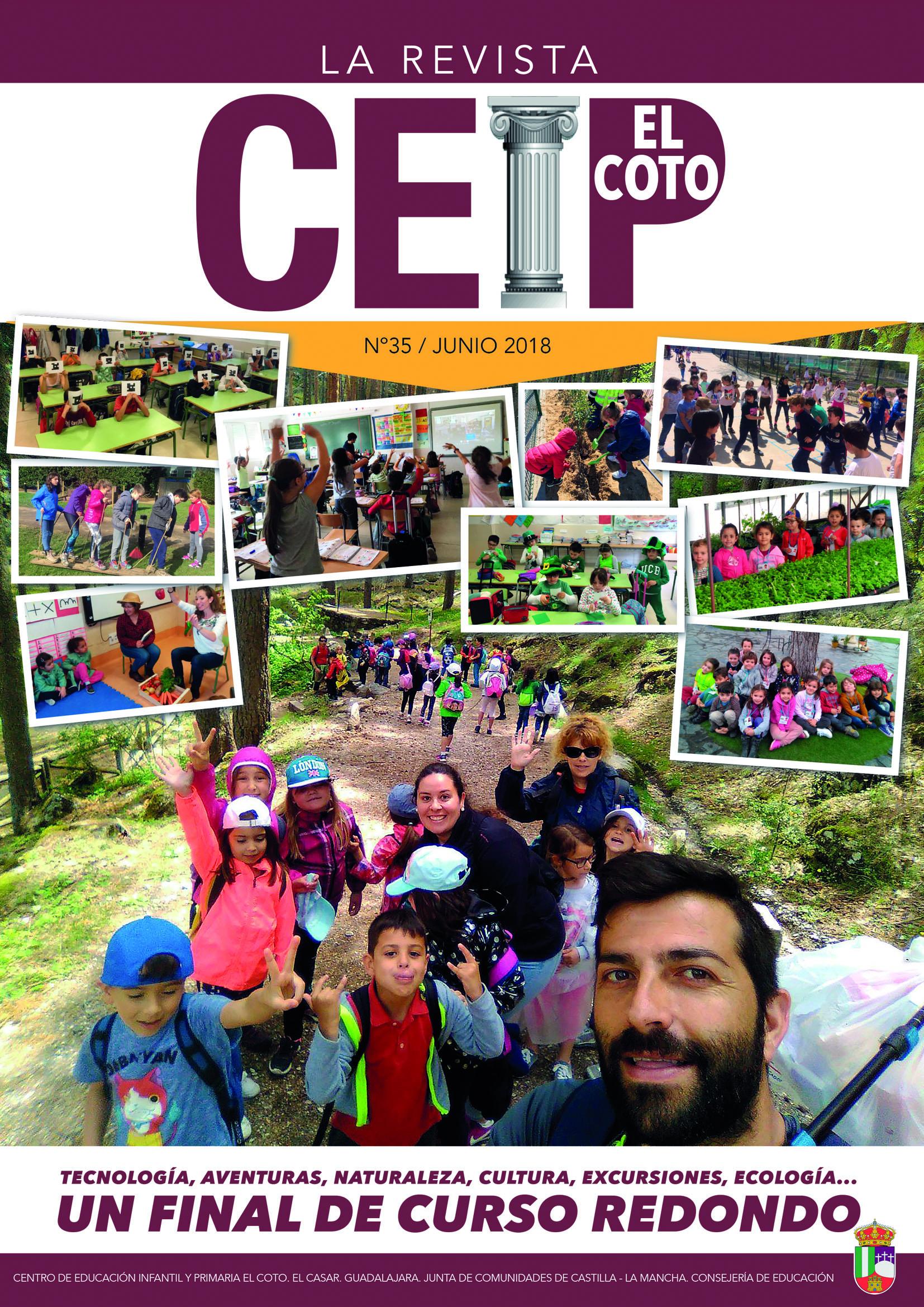 La revista del CEIP El Coto, un trabajo de equipo