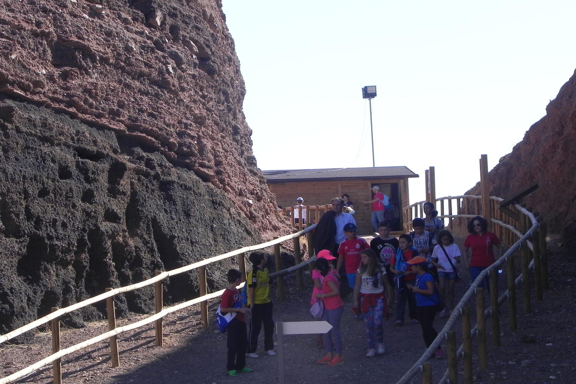 El Cerro Gordo, viaje al centro del volcán